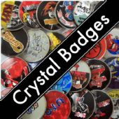 CRYSTAL BADGES